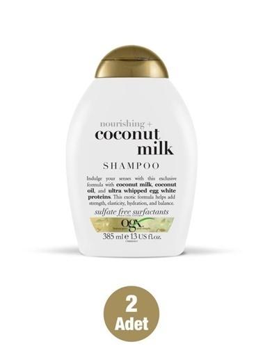 Organix Organix Nourishing Coconut Milk Besleyici Şampuan 385 Ml X2 Adet Renksiz